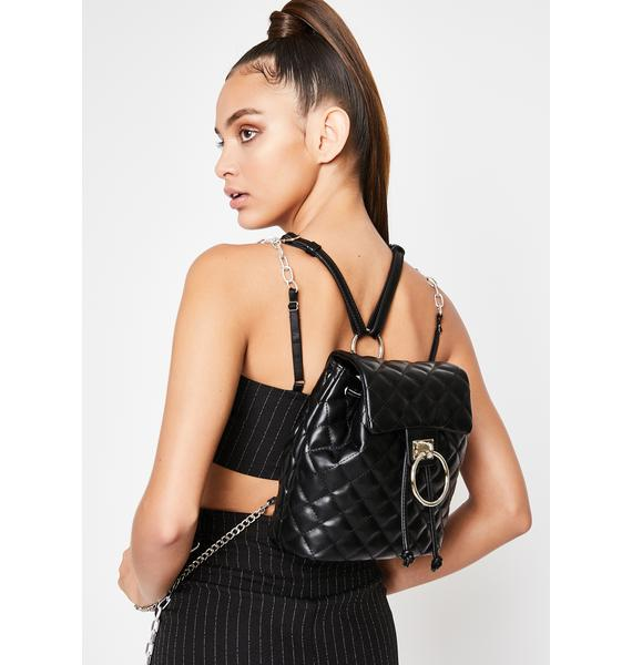 HOROSCOPEZ Luxe Levels Quilted Backpack
