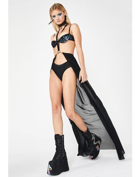 Spellbound Harness Skirt