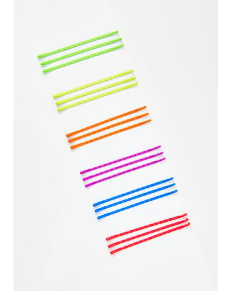 Daddy's Gurl Multicolor Bobby Pins