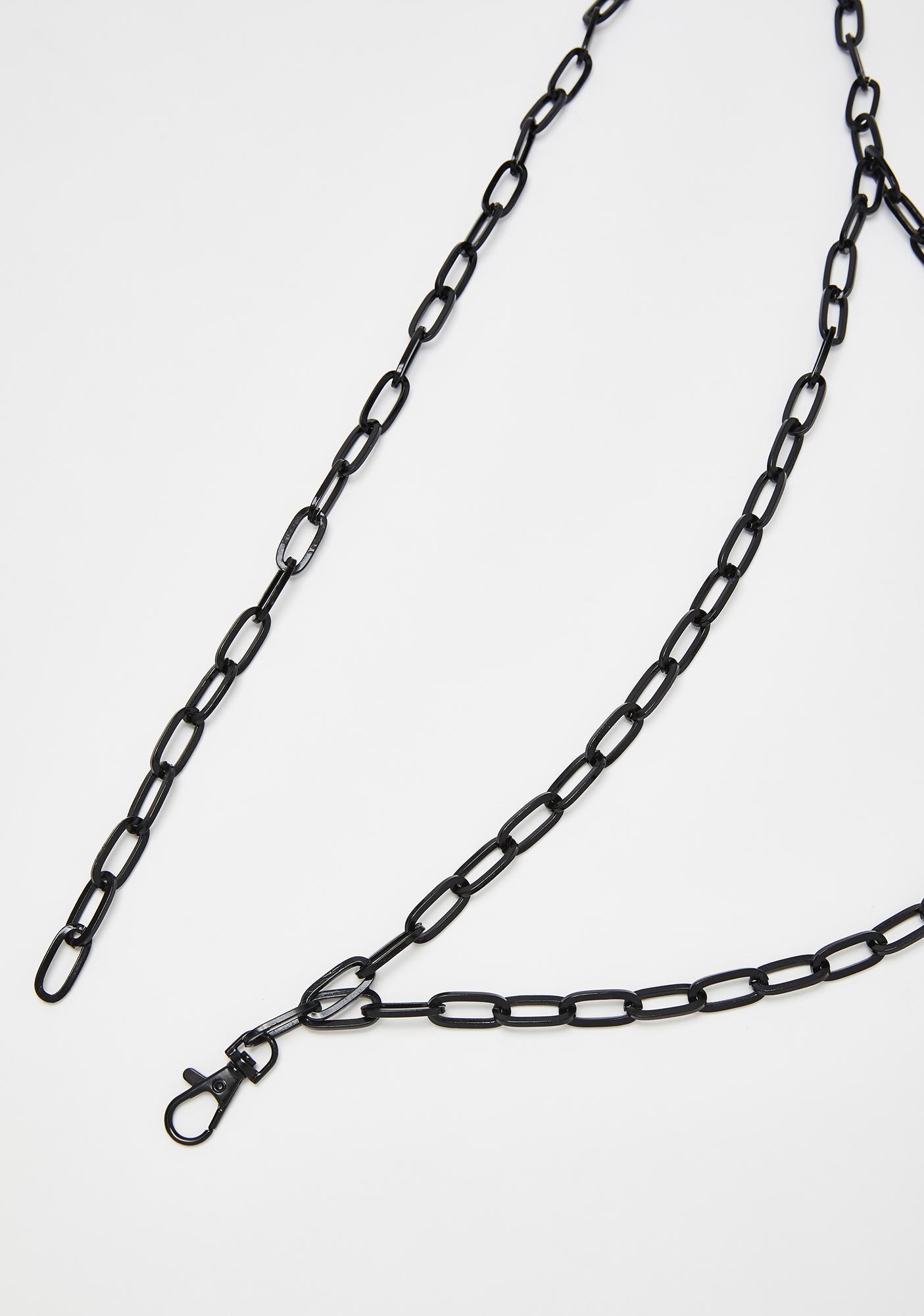 Fair Warning Chain Belt