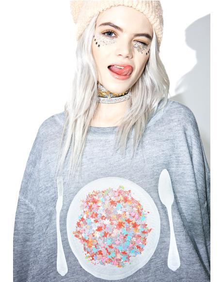 Disco Snack Roadtrip Sweater