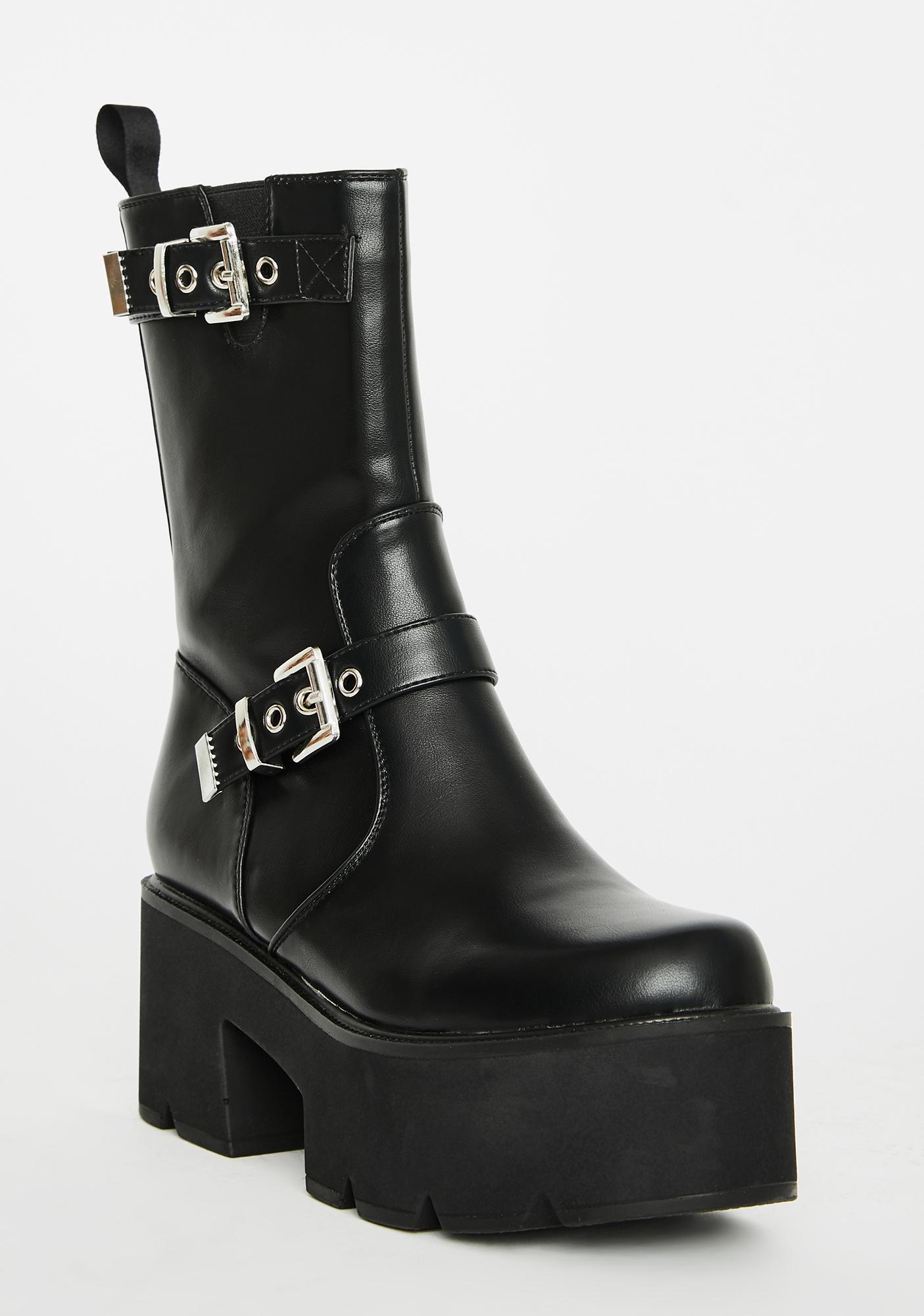 Lamoda Pushin' Limits Platform Boots