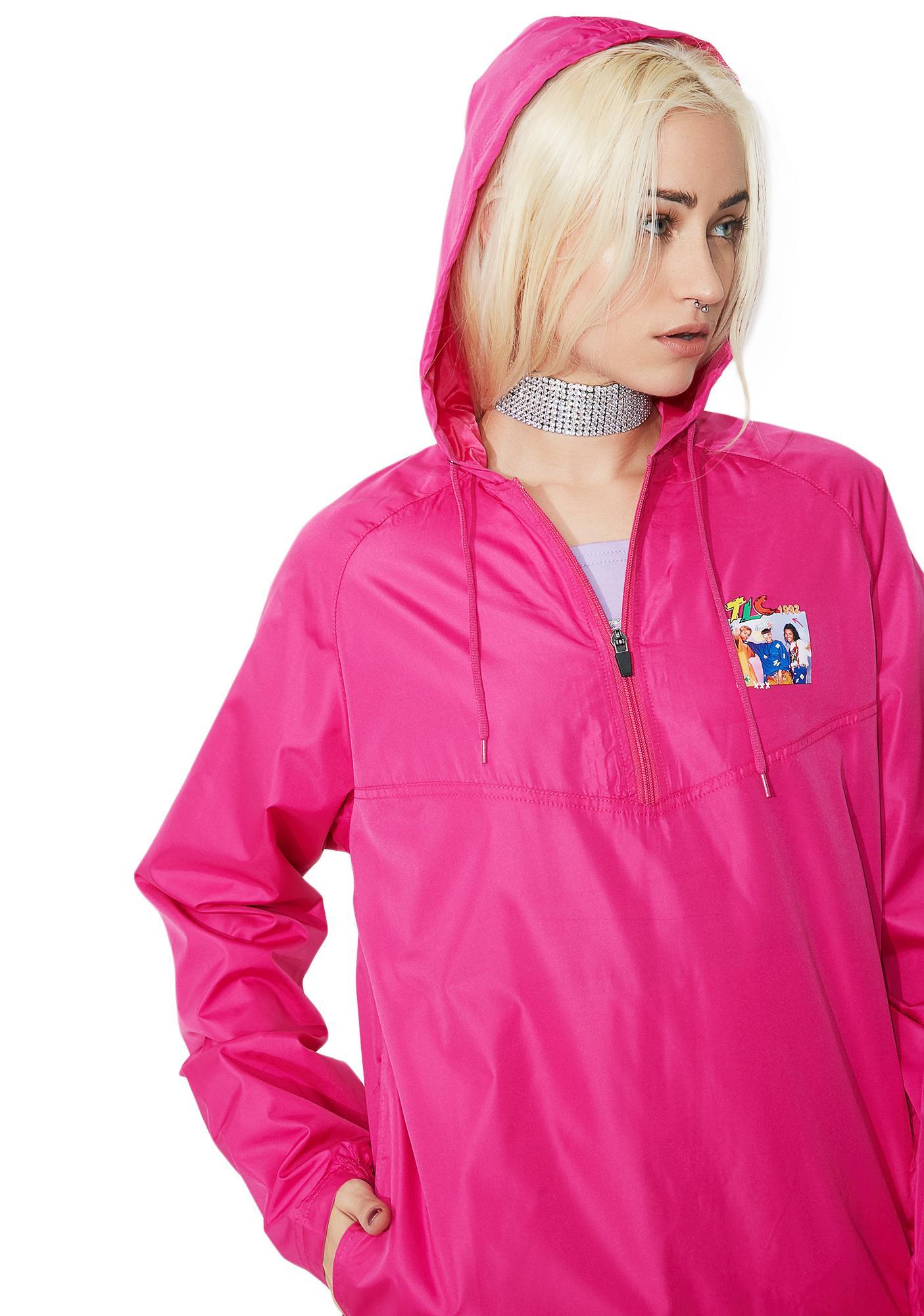Cross Colours TLC Hooded Windbreaker