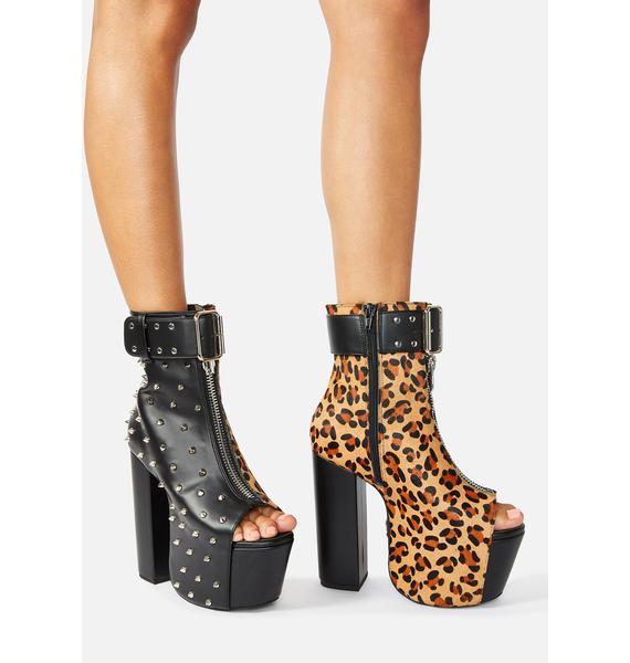 Charla Tedrick Half Wild Platform Boots
