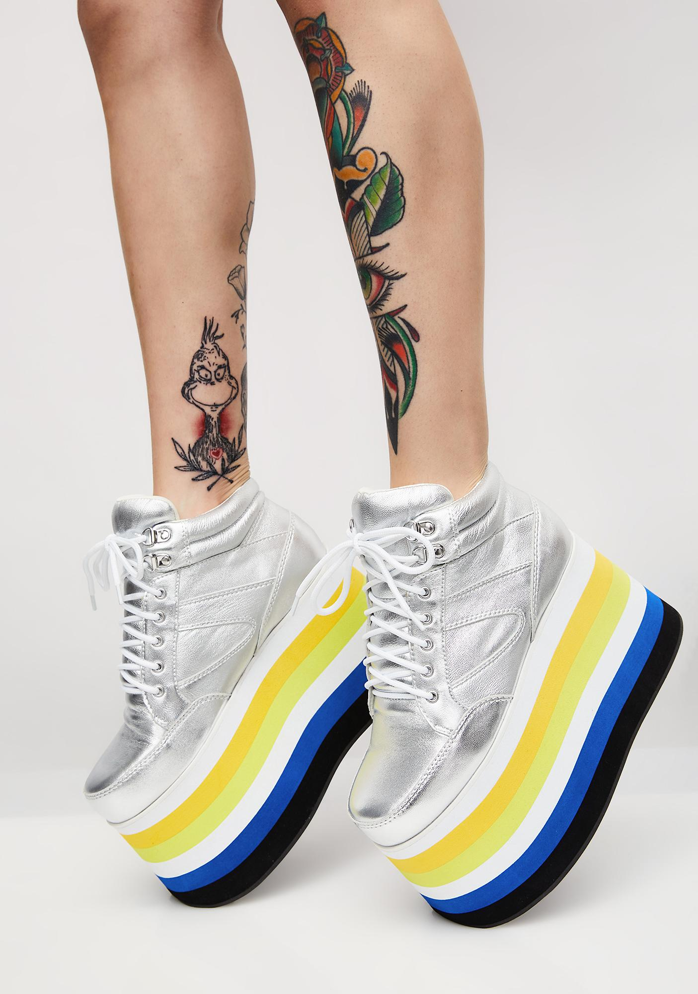Shellys London Dema Platform Sneakers