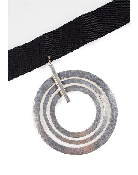Big Circles Choker