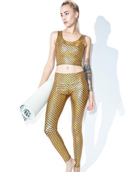 Mermaid Hologram Leggings