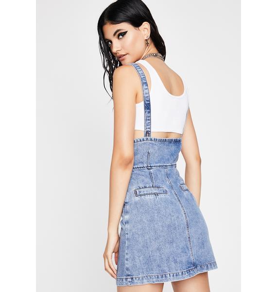 Mackin N' Hangin' Denim Skirt