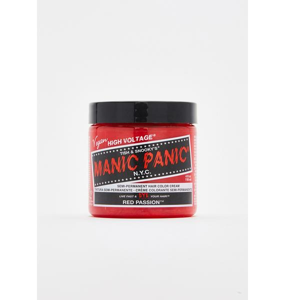 Manic Panic Red Passion Classic High Voltage UV Hair Dye