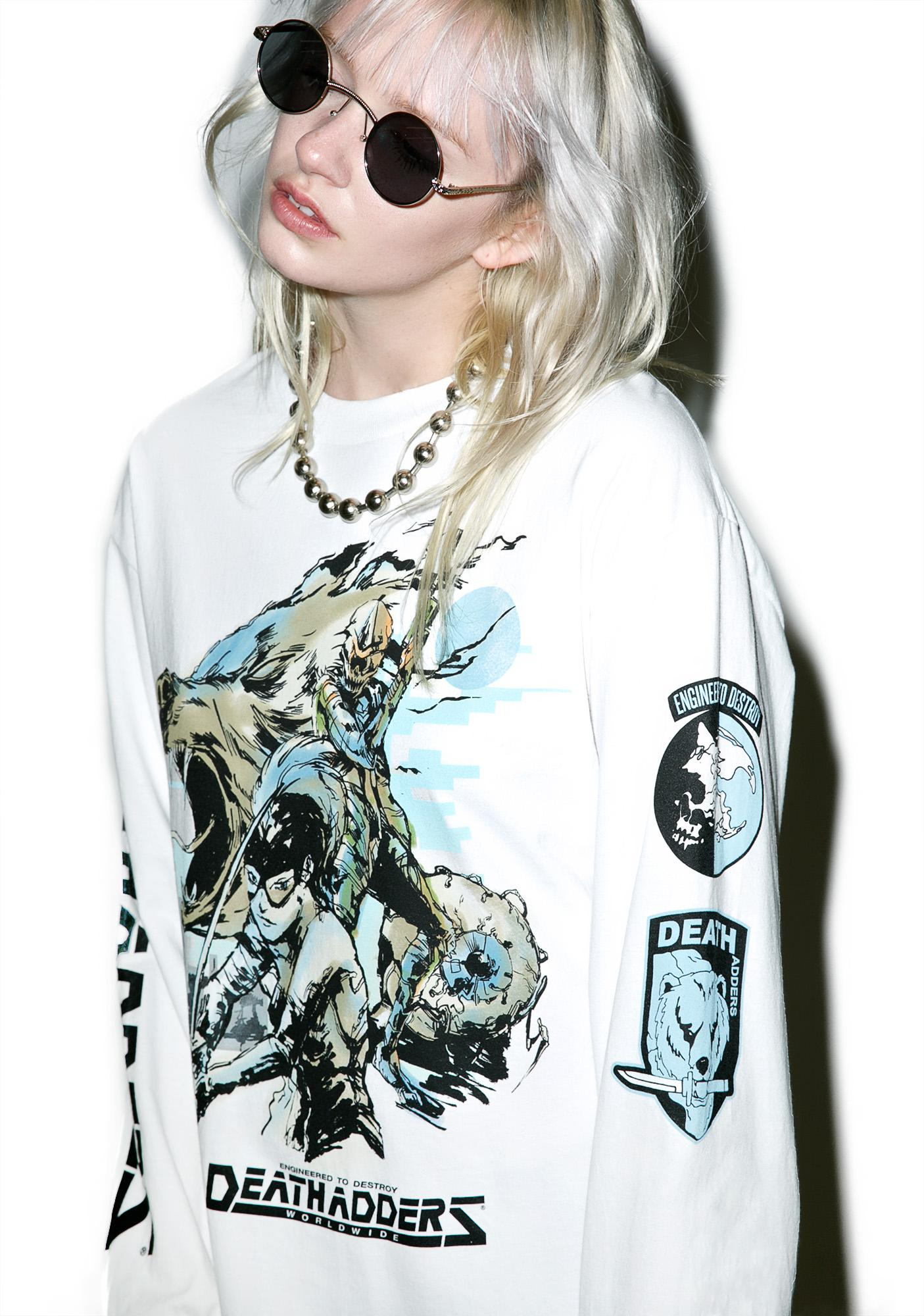 Mishka Metal Death Adder Long Sleeve Tee