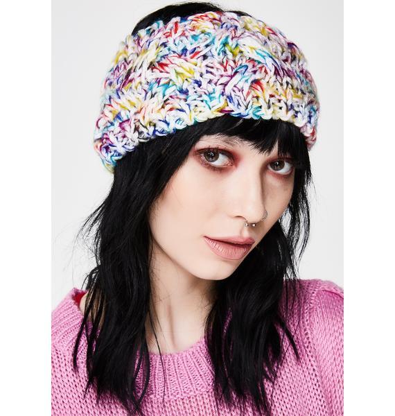 Snow Reignbow Bae Headband