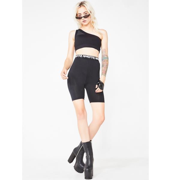 ManEater Nicki Biker Shorts