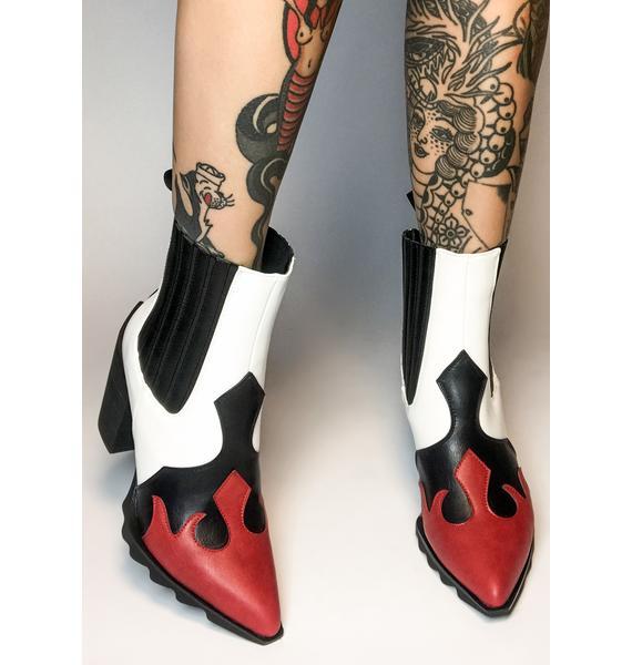 Lamoda Boo You Wish Ankle Boots