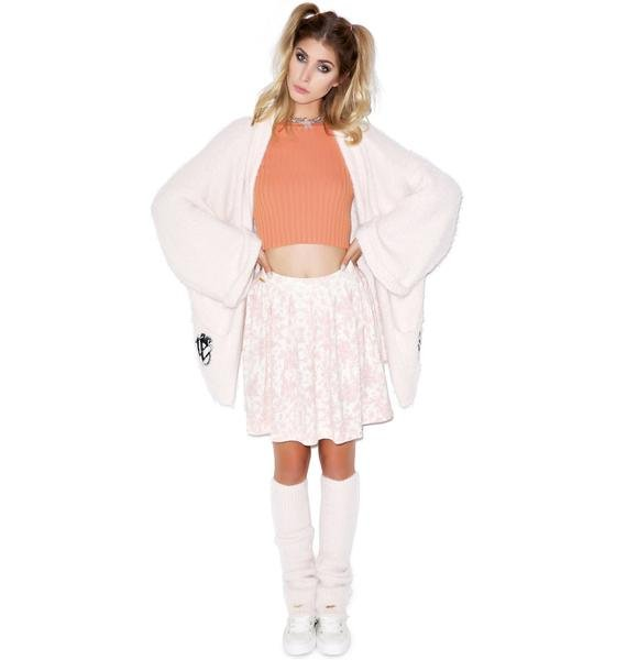 Wildfox Couture Toile Pleated Skirt