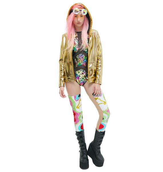 Electric Styles Glitzy Electro Light-Up Hoodie