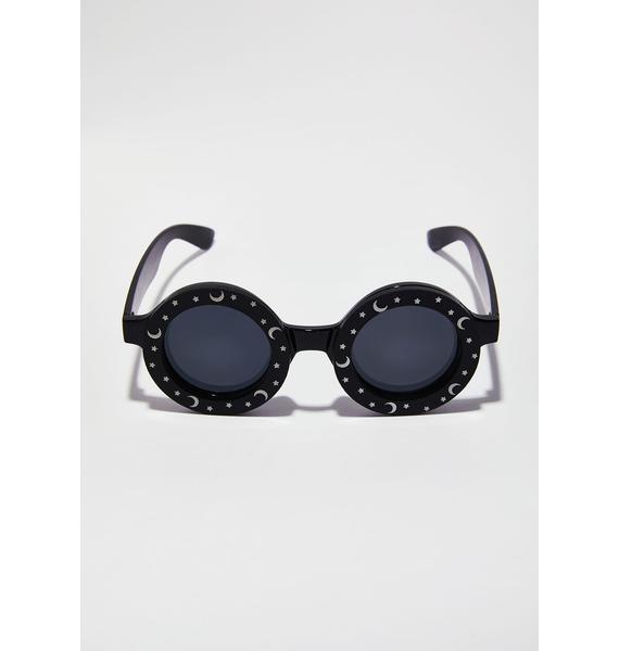 Witch Worldwide Moon & Stars Sunglasses