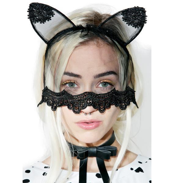 Veiled Night Kitty Ears