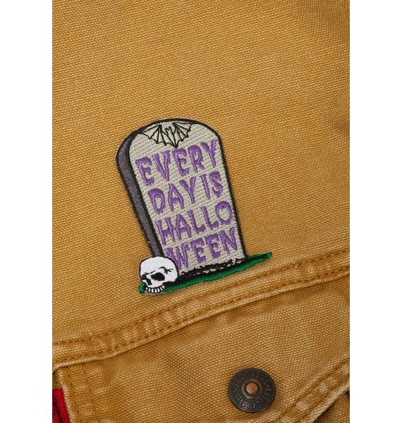 Kreepsville 666 Every Day Is Halloween Patch