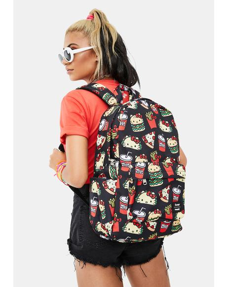 Hello Kitty Snacks Backpack