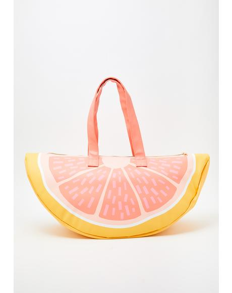 Grapefruit Super Chill Cooler Bag