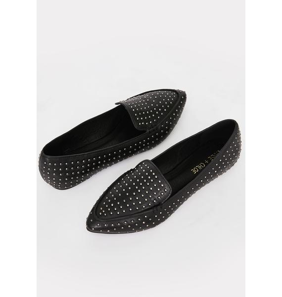 Onyx Lady In The Streets Ballet Flats