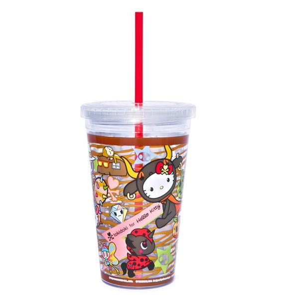 Sanrio Tokidoki X Hello Kitty Summer Safari Cup