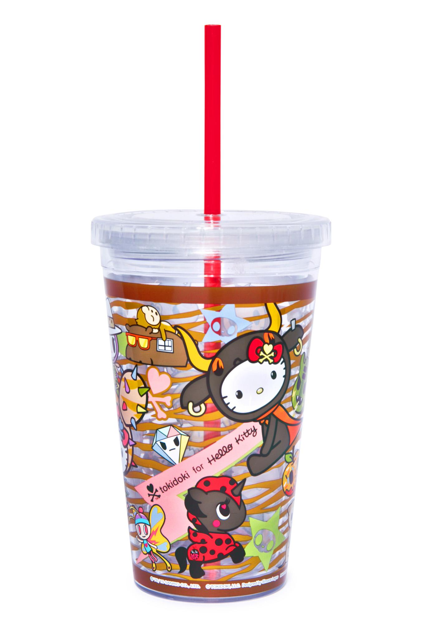 Sanrio Tokidoki X Hello Kitty Summer Safari Cup