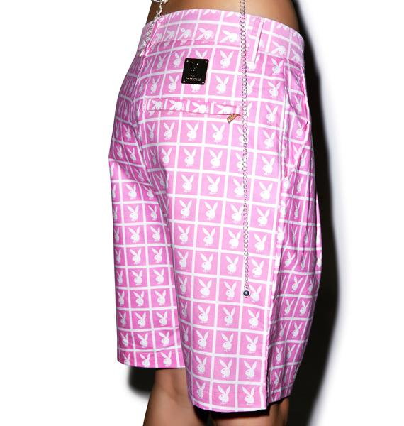 Joyrich X Playboy Panel Shorts