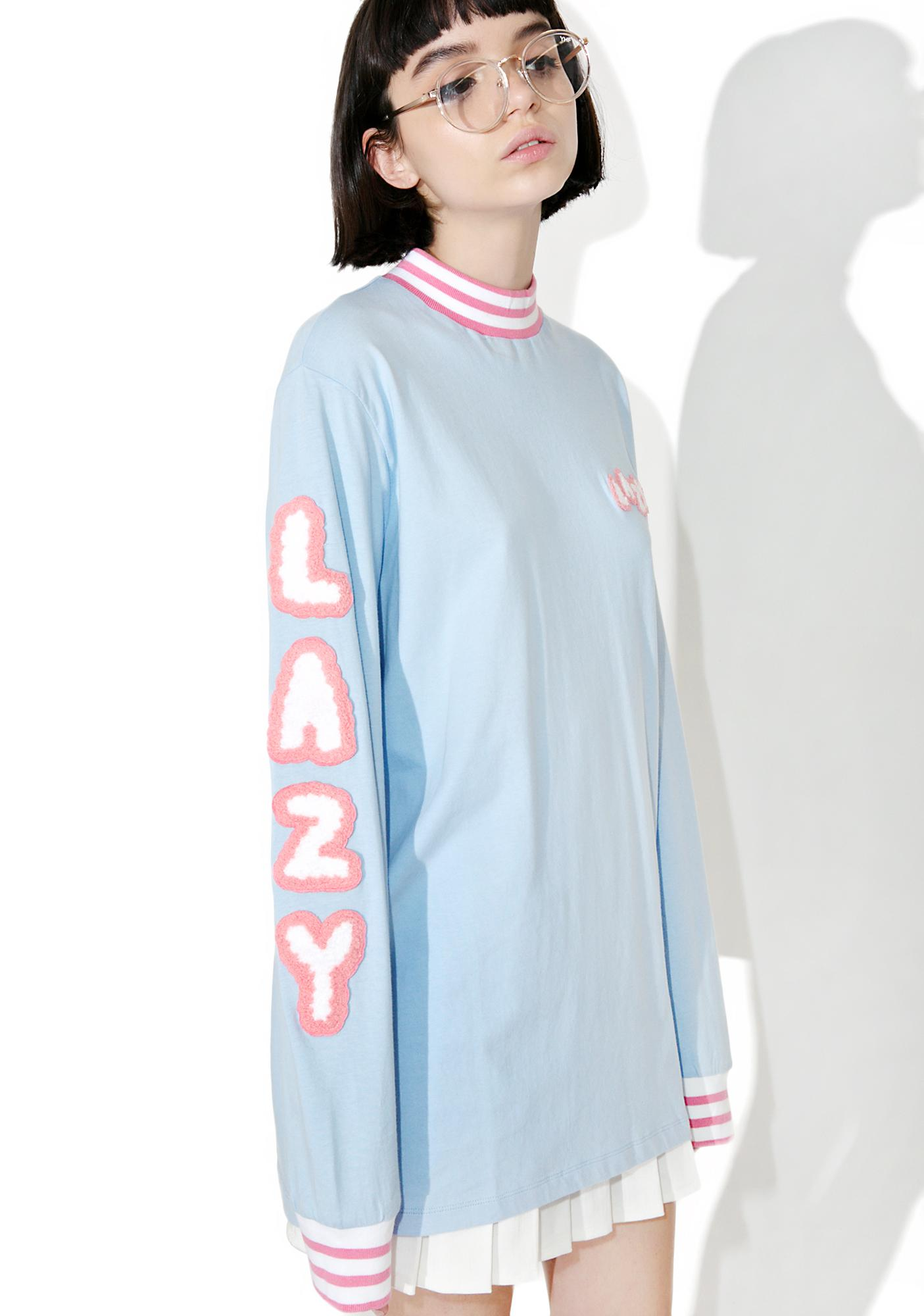 Lazy Oaf Lazy Letters Long Sleeve Tee