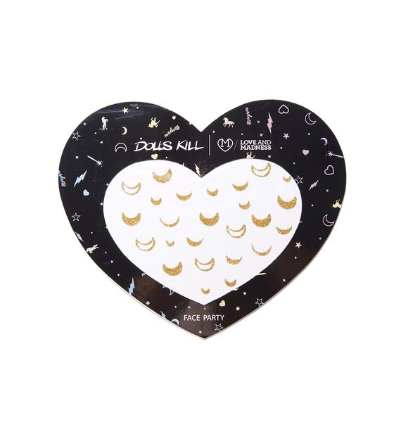 Love And Madness Moon Glitter Freckles