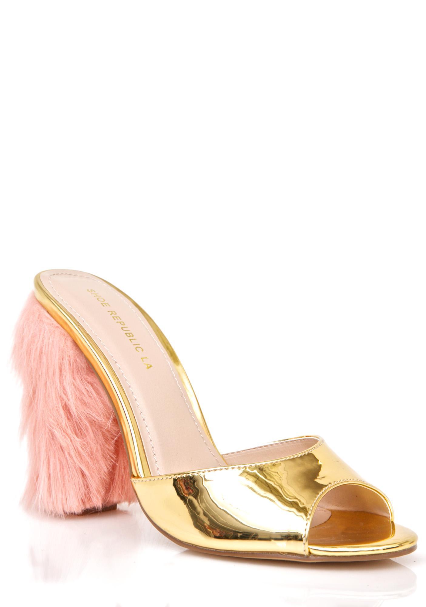 Haven Fuzzy Heels