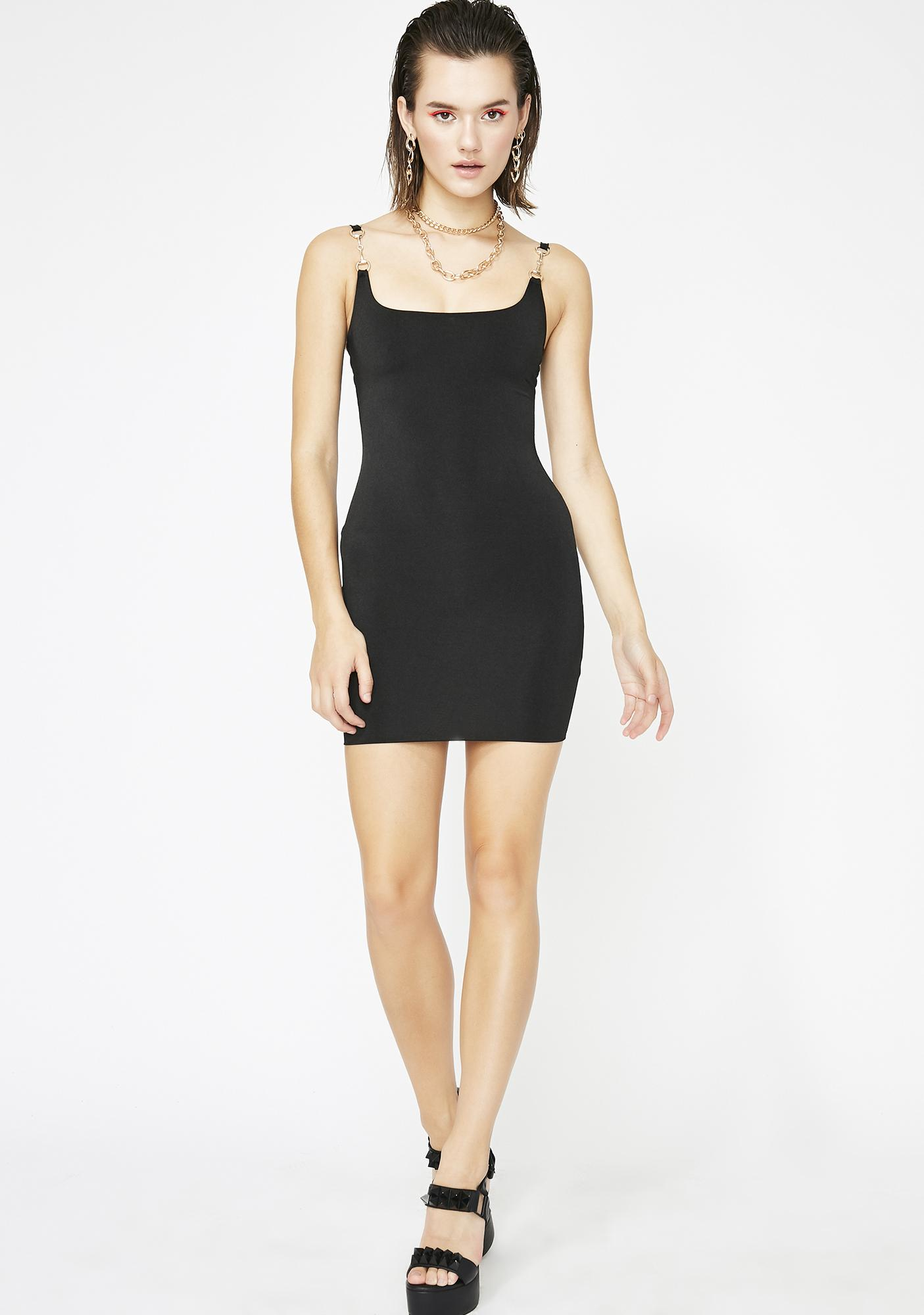 Sinful Made Ya Lurk Mini Dress