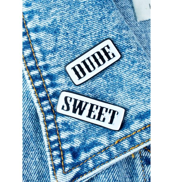 Band of Weirdos Dude Sweet Enamel Pin Set
