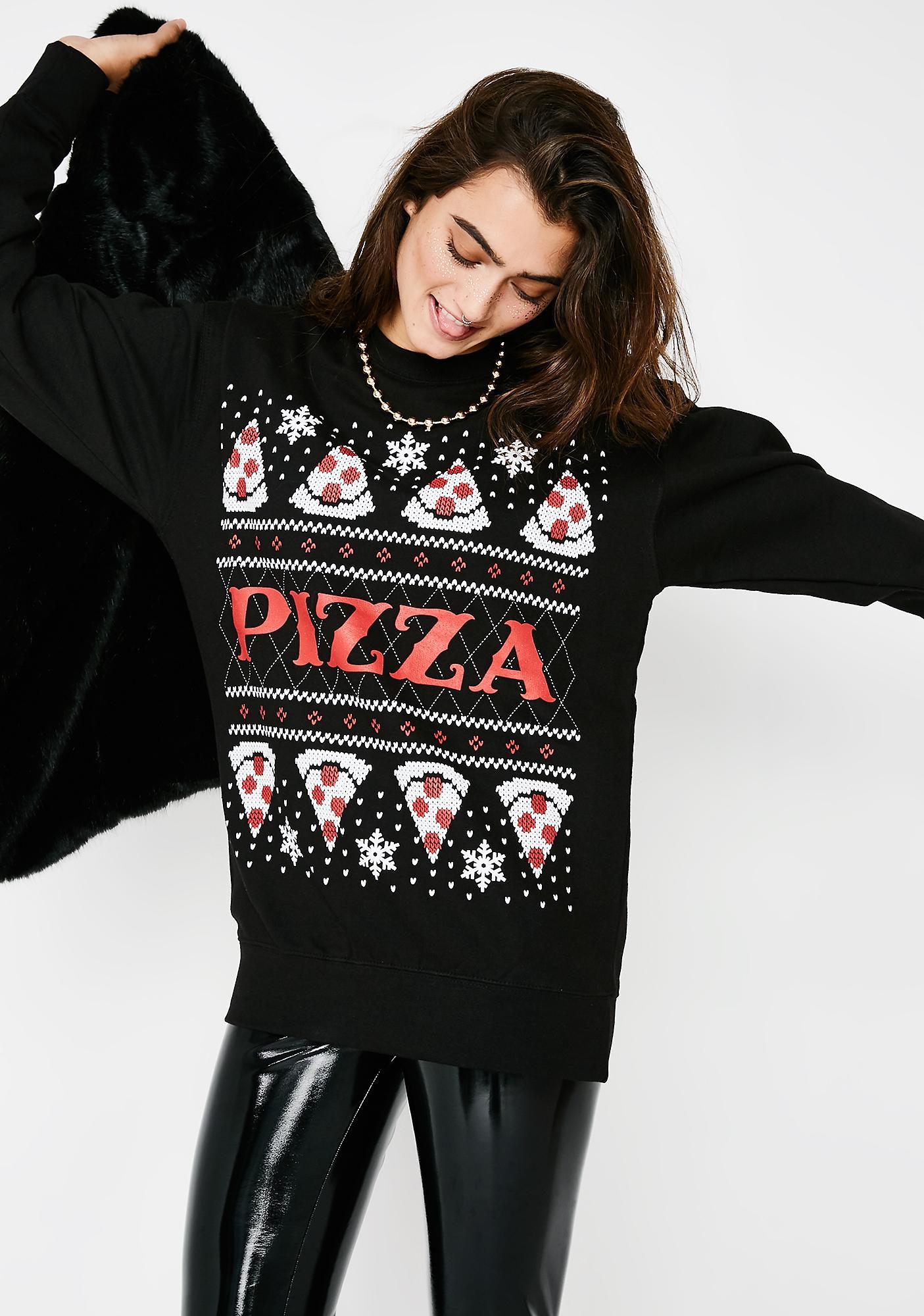Pizza Please Sweater