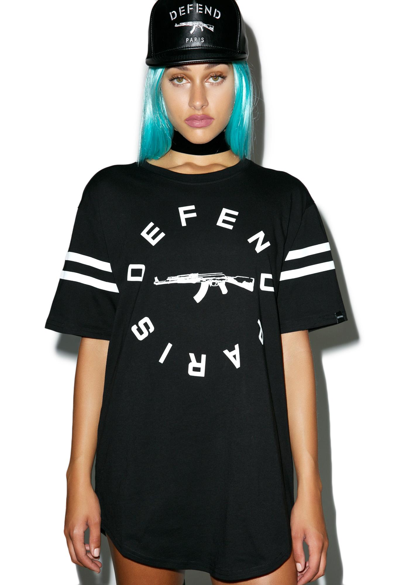 Defend Paris Stripe Tee