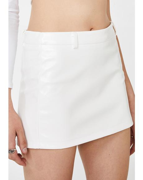 Lyra PU Mini Skirt