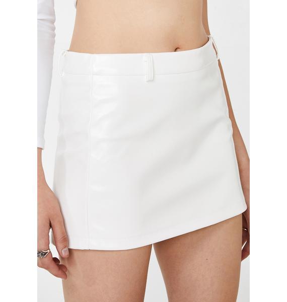 Hidden Cult Lyra PU Mini Skirt