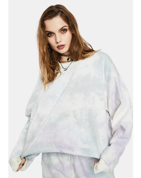 Ibiza Tie Dye Sweatshirt