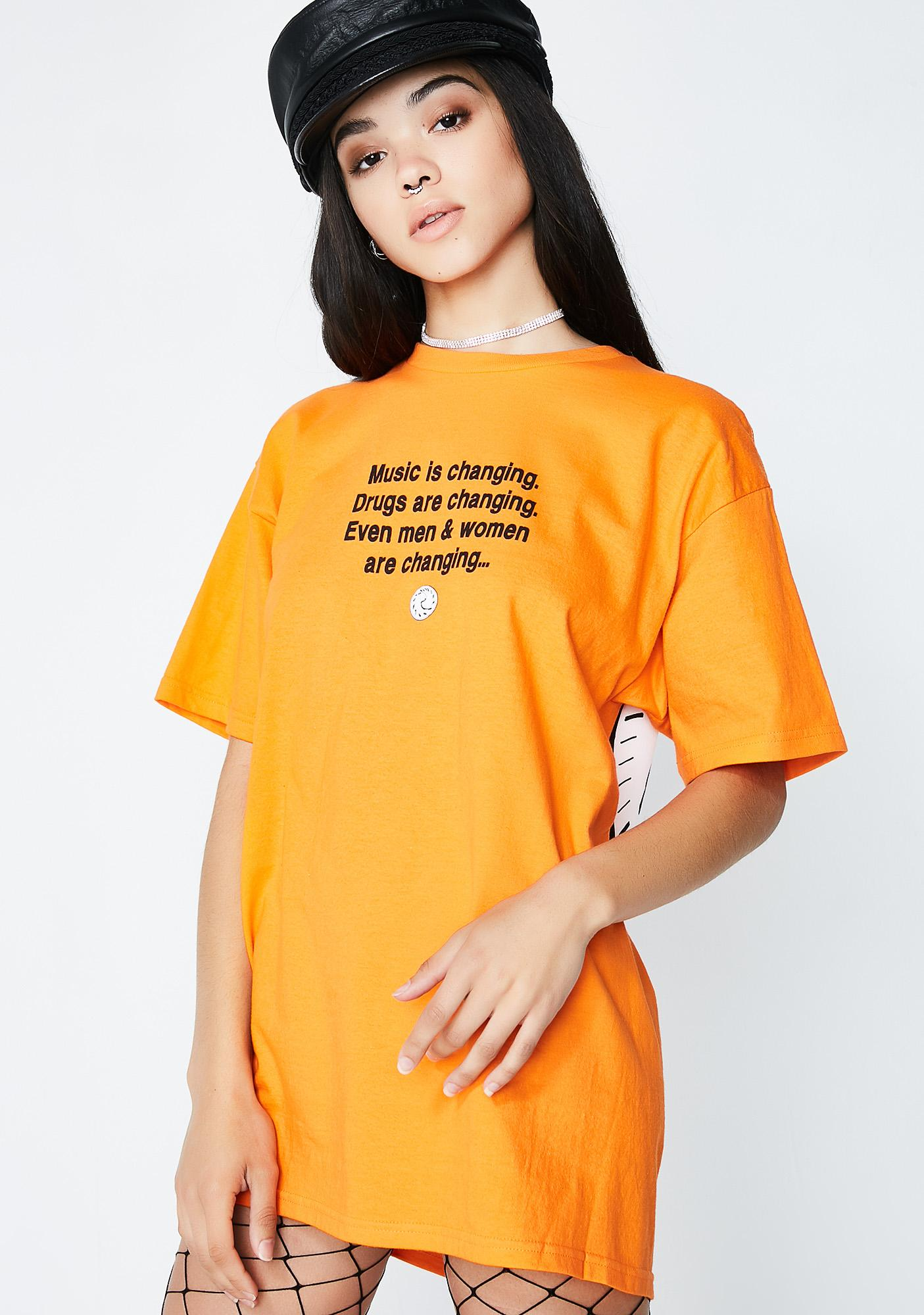 Pleasures Time T-Shirt