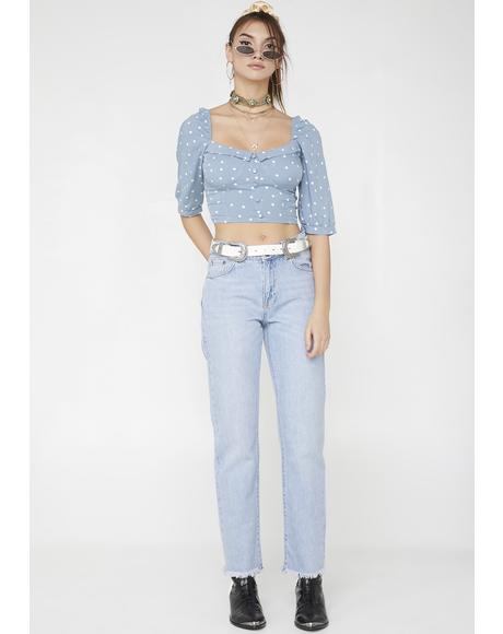 Sky Voodoo Child Jeans