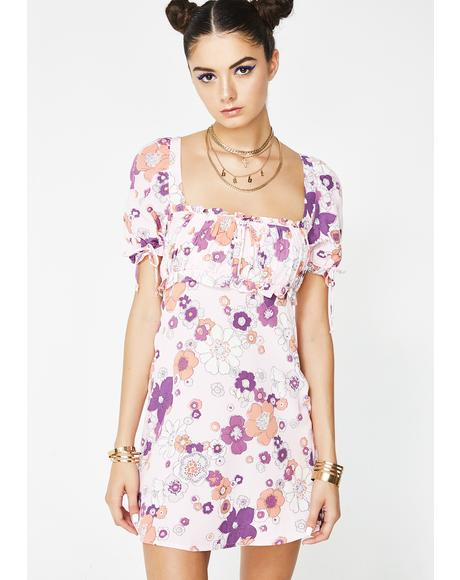 Magnolia Mini Dress