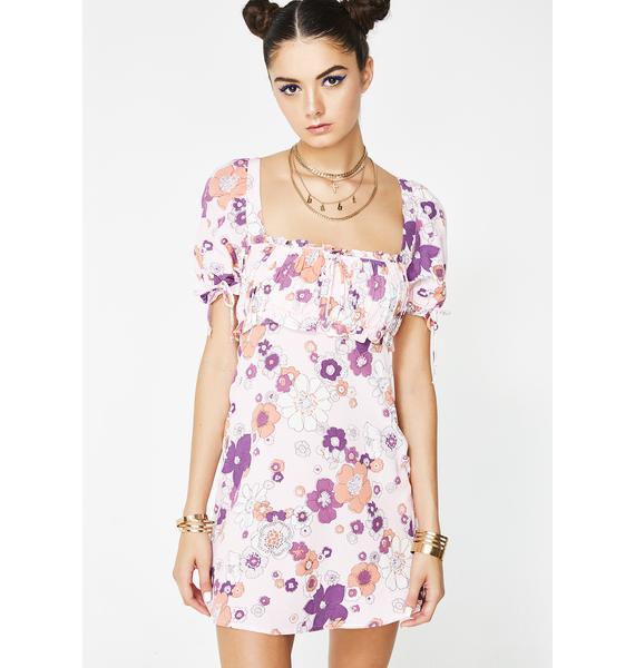 For Love & Lemons Magnolia Mini Dress
