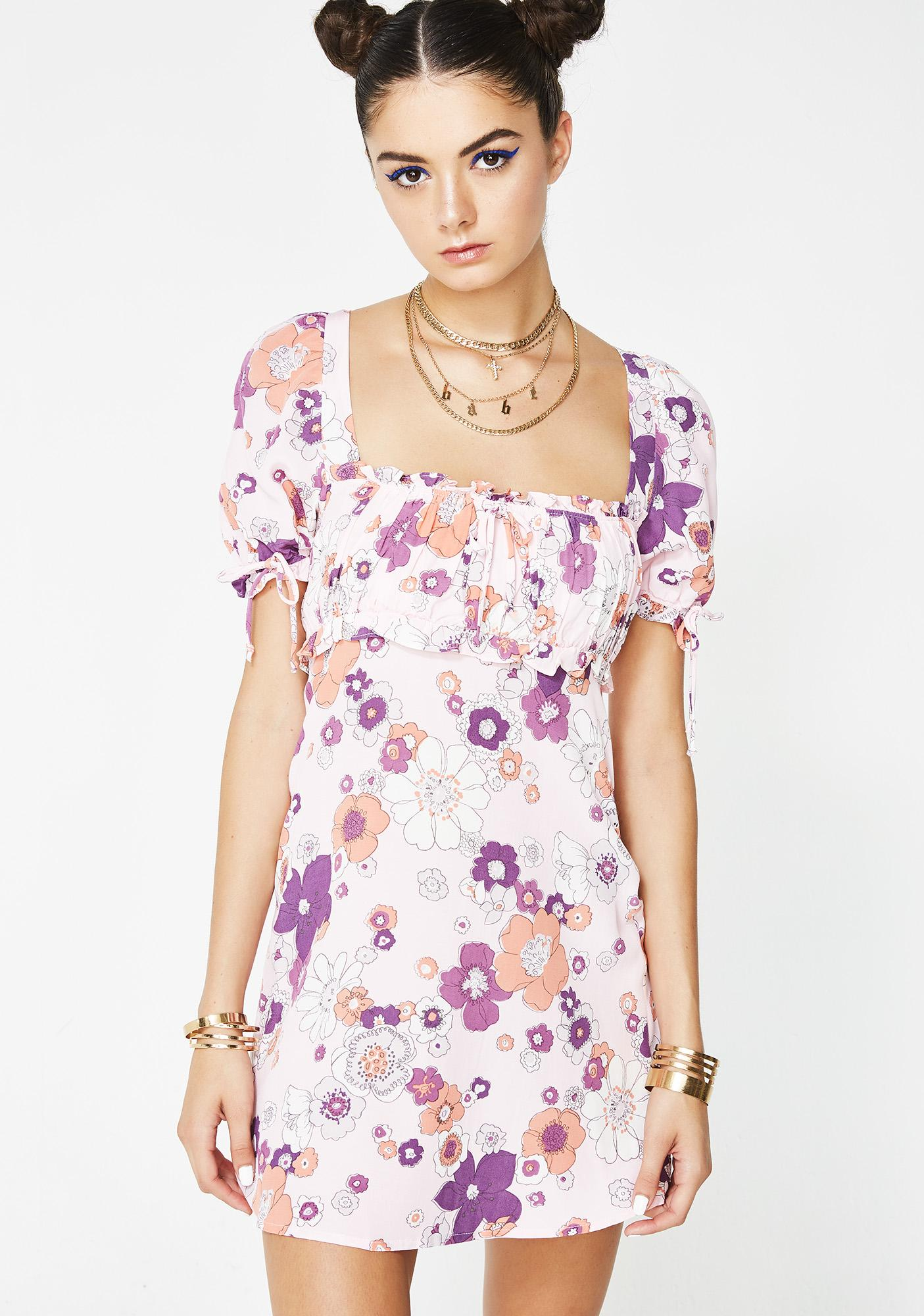 Magnolia Mini Dress by For Love Lemons