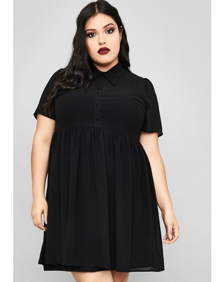 I'm Not Afraid Babydoll Dress