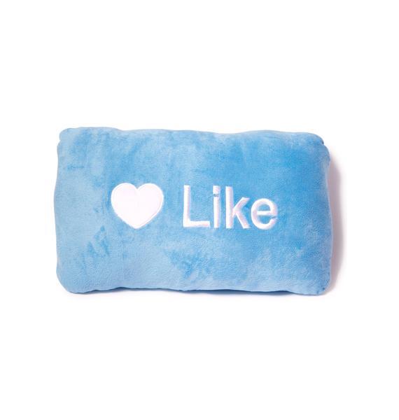 Like Button Pillow
