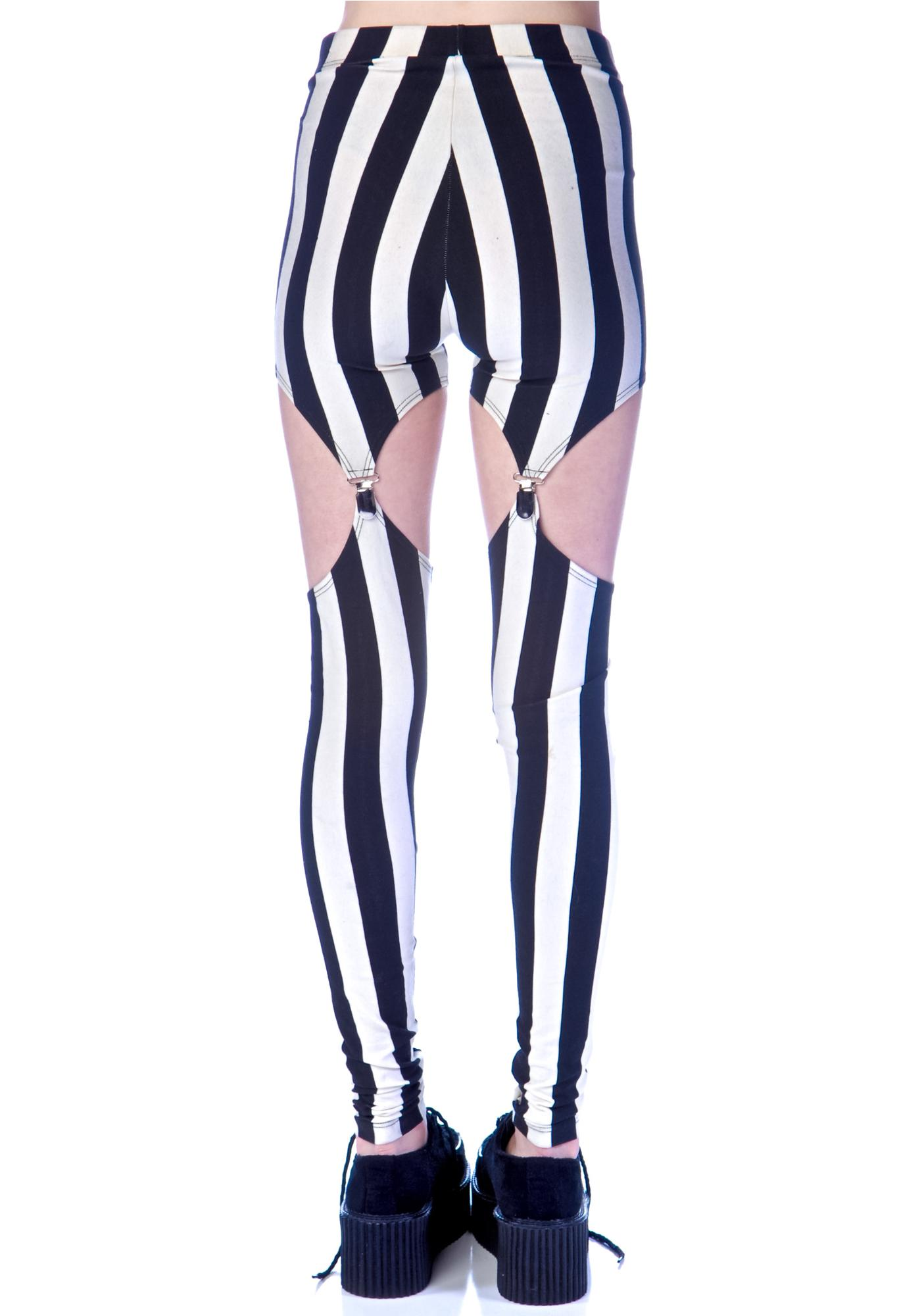 Widow (old) Beetlejuice Garter Leggings