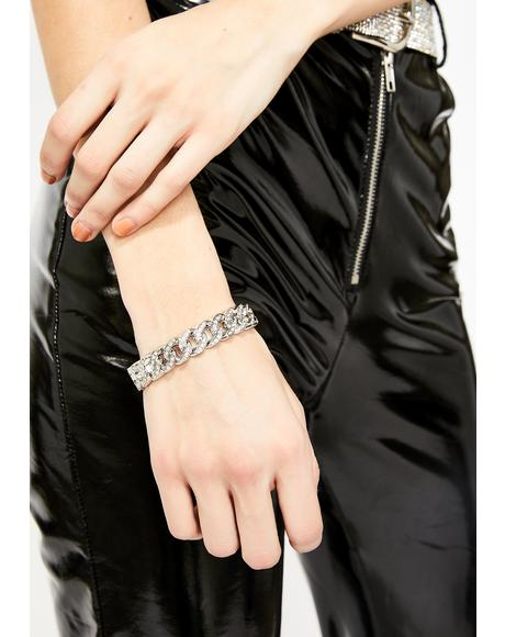 Chain Gang Bling Bracelet