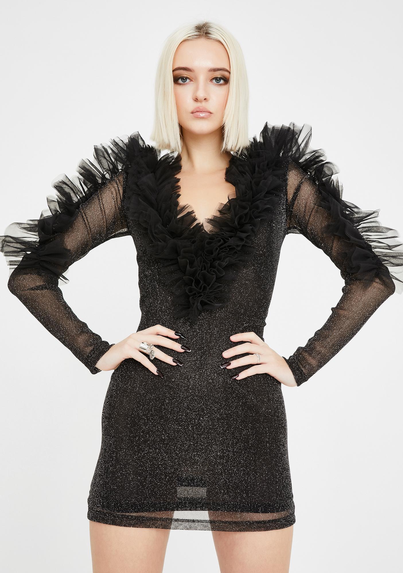 Kiki Riki Self Made Woman Mini Dress