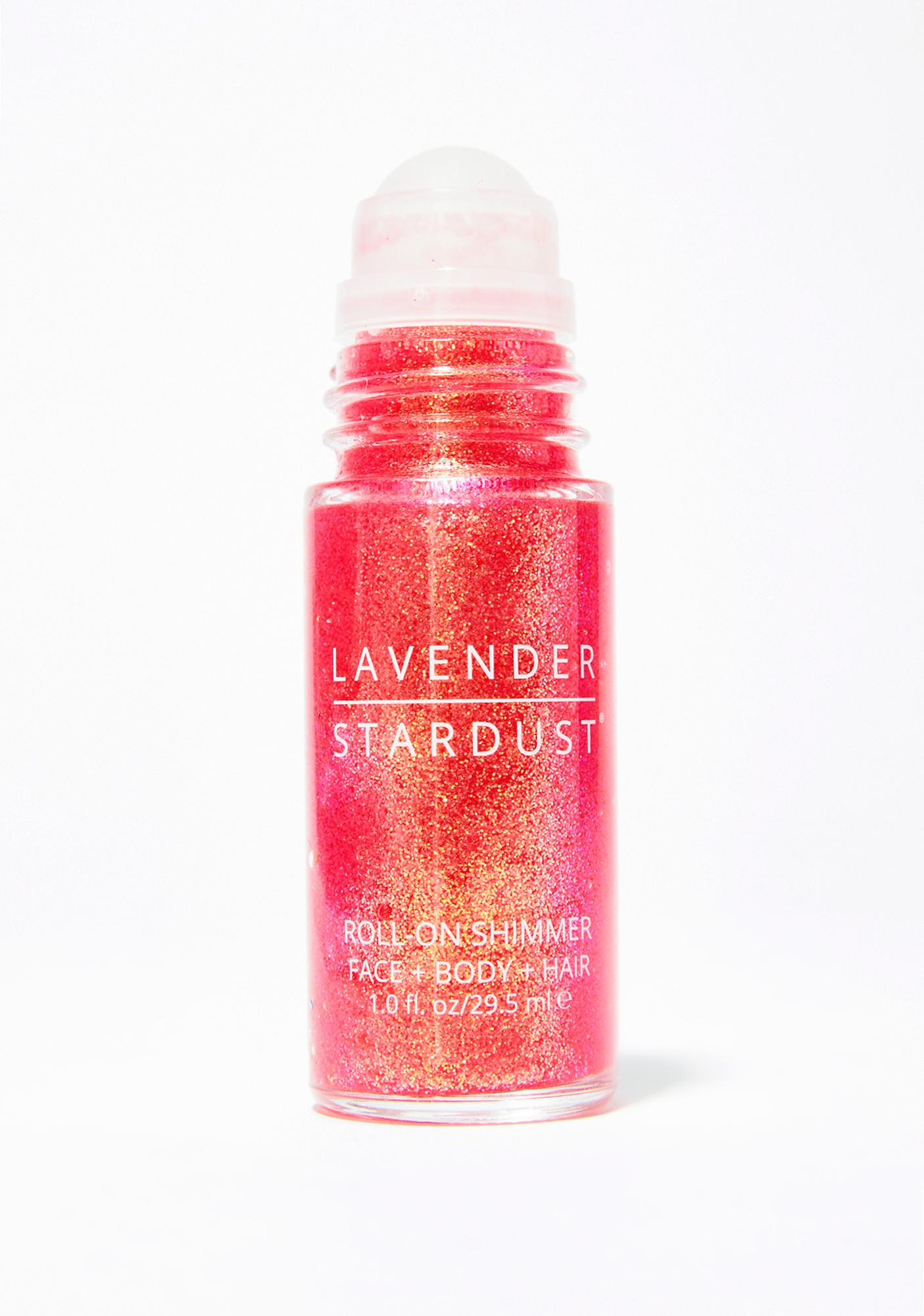 Lavender Stardust Strawberry Fields Roll On Glitter