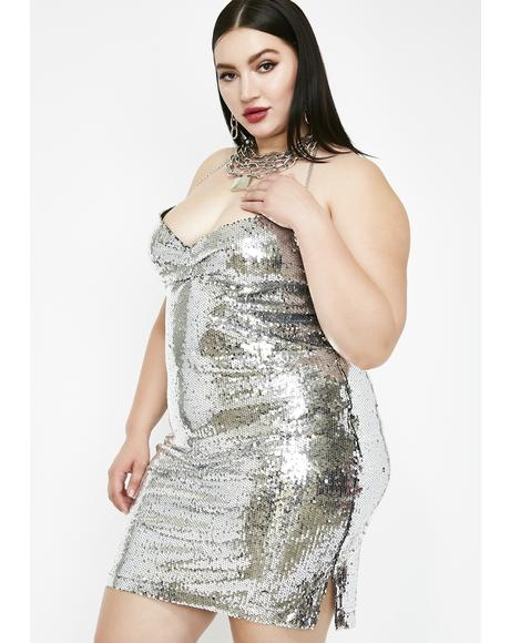 Miss Freeze Sequin Dress
